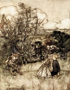 Arthur Rackham Puck of Pook's Hill